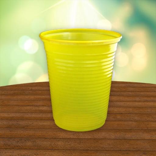 Vaso de plástico