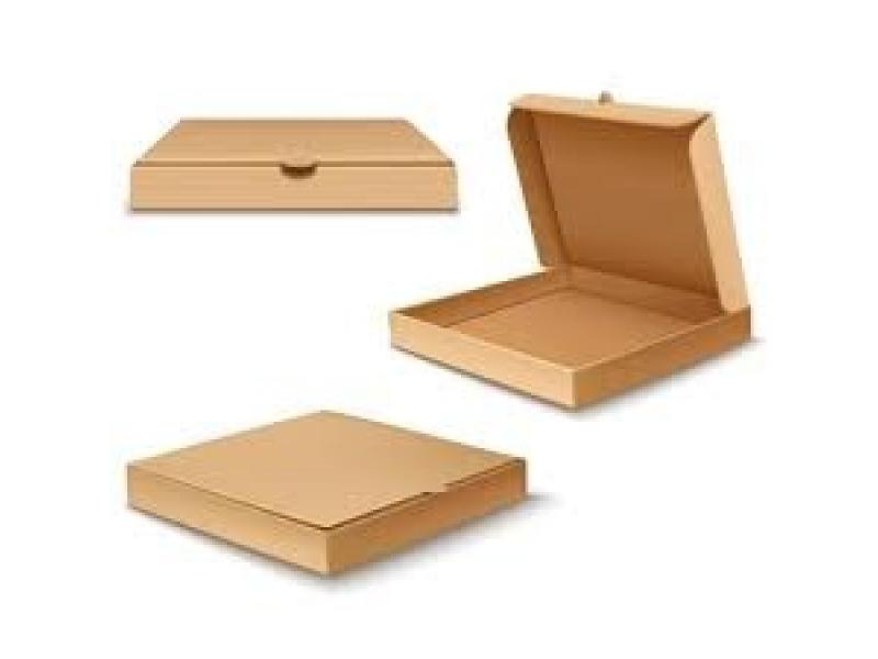 Caja para pizza.