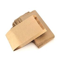 Bolsa de papel kraft 16X11X7 paquete x50
