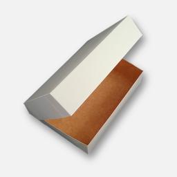 Caja para masas de 1/4  kilo 12 x 18 x 6