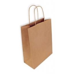 Bolsas de papel con asas.