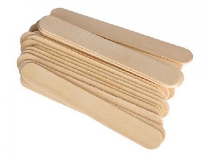 Baja lengua de madera Paq. x 50