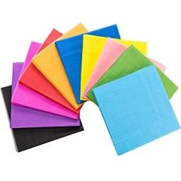 Servilletas colores 33X33